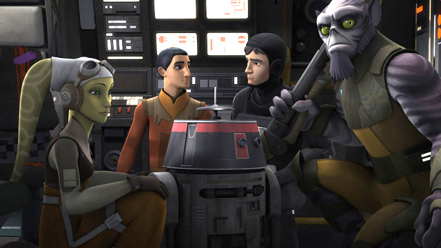 """Check out a new clip and photos from """"Double Agent Droid,"""" the next episode of Lucasfilm's Star Wars Rebels. Catch it on Disney XD Saturday, March 11."""