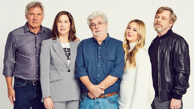 """Check out our newly updated Star Wars Celebration gallery for a look at the stars in attendance at this morning's """"40 Years of Star Wars"""" panel."""