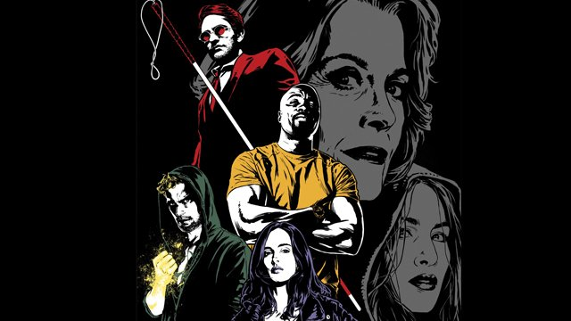 Marvel Chief Creative Officer Joe Quesada shared via Twitter a special piece of Marvel's The Defenders art that he created as a gift for the cast and crew.