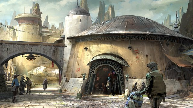 """""""This project is the most ambitious project I've ever seen in the history of Walt Disney Imagineering,"""" says Chris Beatty of the Star Wars attraction."""