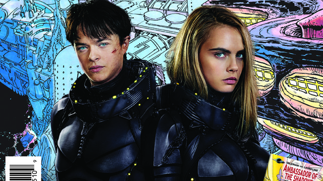 A Valerian comic is going to be given away on Free Comic Book Day. The annual event takes place Saturday, May 6 at comic shops around the world.