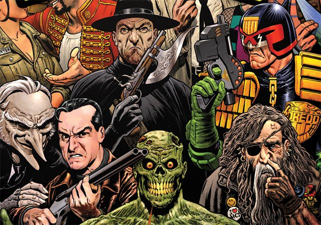British Comics Creator Pat Mills Talks the 2000AD Documentary