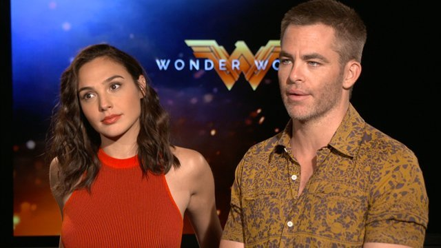 SHH sits down with Wonder Woman stars Gal Gadot and Chris Pine! Catch director Patty Jenkins' DC Comics film in theaters this Friday, June 2.