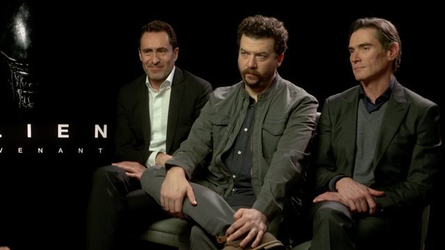 Our Alien Covenant cast interviews continue with a stars Demián Bichir, Danny McBride and Billy Crudup. Catch the film on the big screen this Friday, May 19