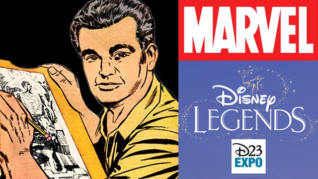 Jack Kirby will be honored as a #DisneyLegend at this year's #D23Expo!