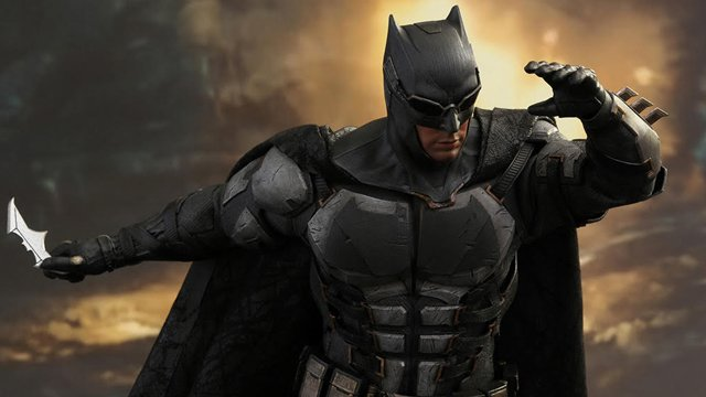 Take a look at Hot Toys' Tactical Batsuit design for an up close look at one of the costumes we'll see Ben Affleck wear in the November 10 release.