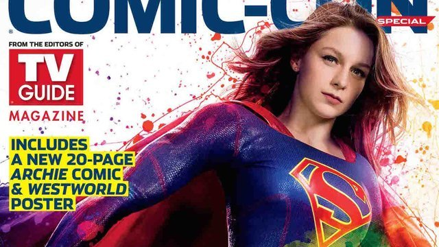 Check out all four TV Guide SDCC exclusive covers featuring The CW series Riverdale, Supergirl, Supernatural, Arrow, Black Lightning and The Flash.