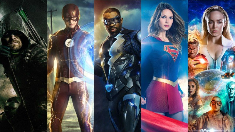 The CW Renews All Superhero Shows