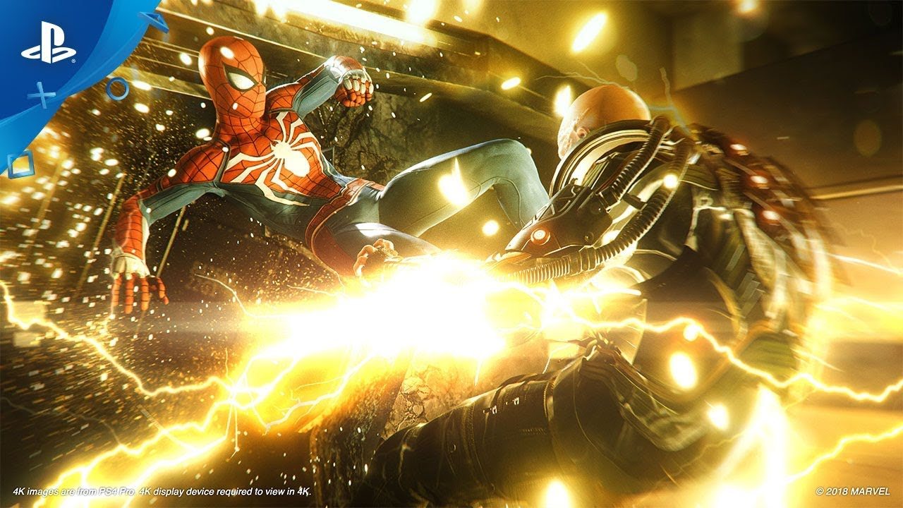 New Spider-Man Game Trailer Brings the Baddies