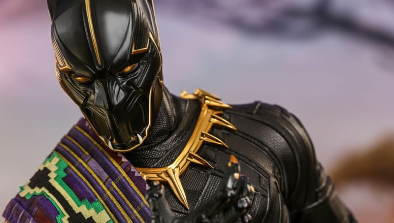 Hot Toys Reveals Regal King T'Chaka Black Panther Figure