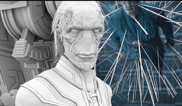 new infinity war vfx reel shows off the battle in ebony maw's ship