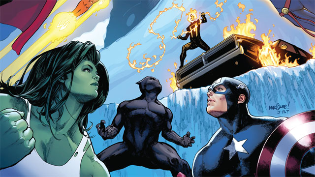 Exclusive Preview: Avengers #8 Gives Ghost Rider the Rookie Experience