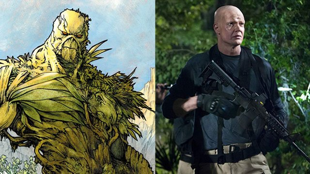 Derek Mears and Andy Bean Confirmed for Swamp Thing