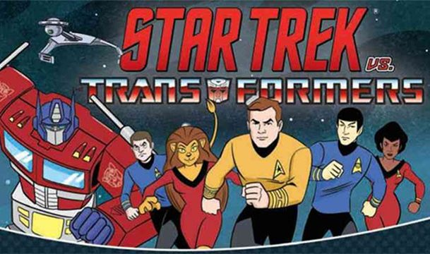 Star Trek vs Transformers #1 Preview Pits Kirk And Crew Against Decepticons