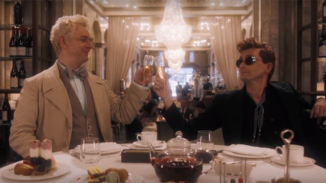 NYCC 2018: Good Omens' First Trailer Welcomes Us To the End Times