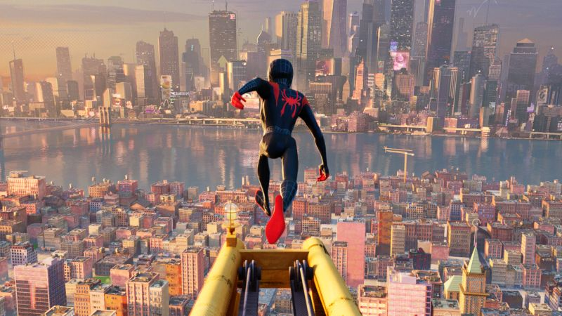 The New Spider-Man: Into the Spider-Verse Trailer is Here!
