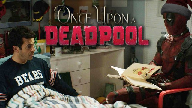 Wade Practices Self-Censorship in New Once Upon a Deadpool Clip