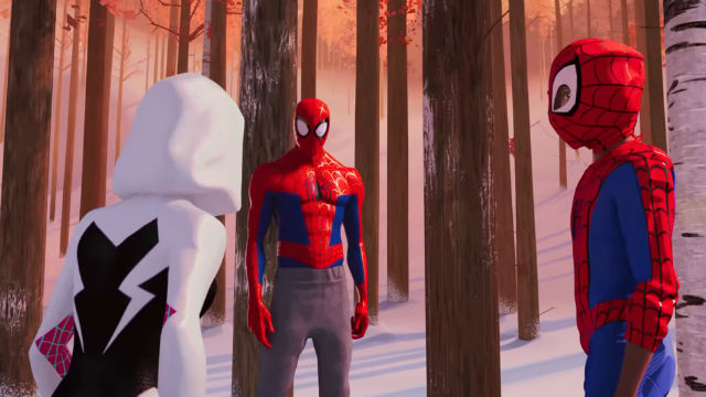 Miles Learns How to Web Swing in New Into the Spider-Verse Clip