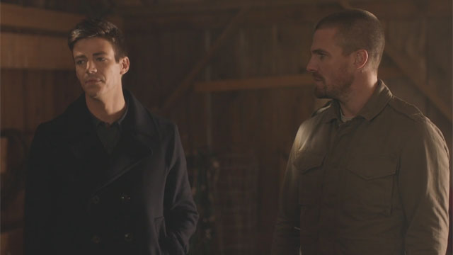 Barry and Oliver Meet Lois and Clark in New Elseworlds Clip