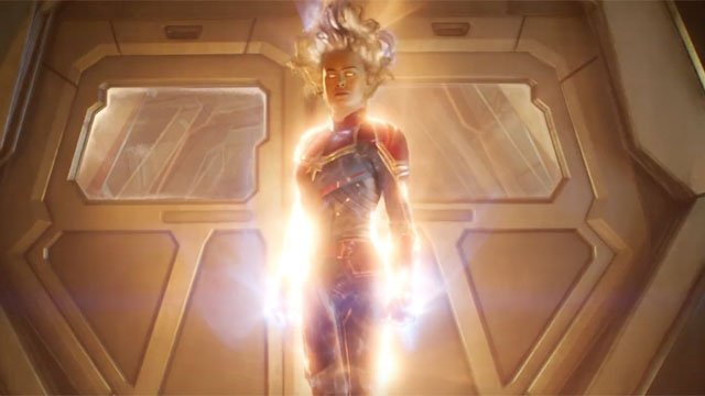 Brie Larson is supercharged in powerful 'Captain Marvel' poster