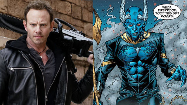 Sharknado's Ian Ziering Cast As Blue Devil in Swamp Thing