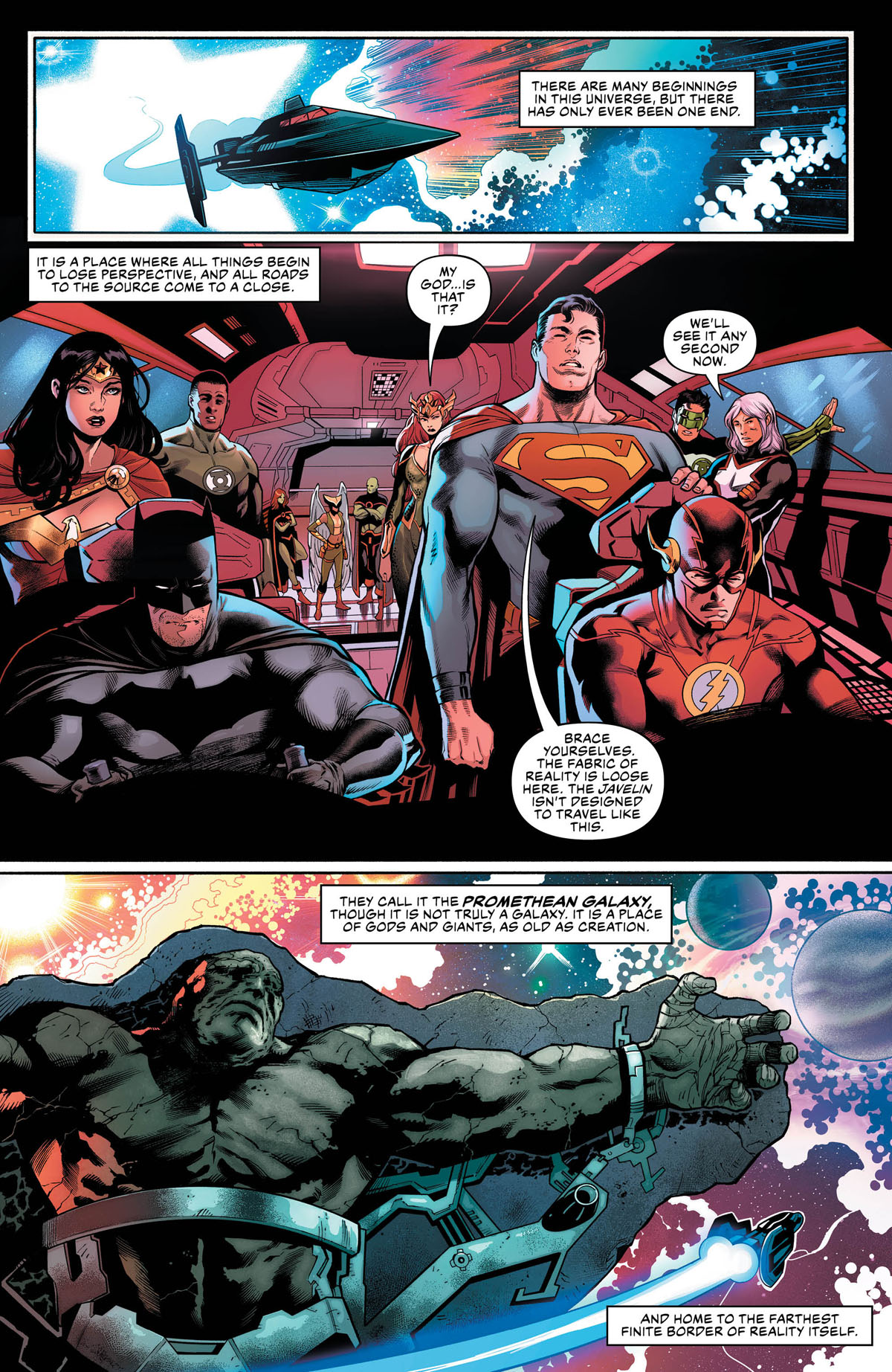 Scott Snyder & James Tynion IV Take Us Beyond Justice League Annual #1