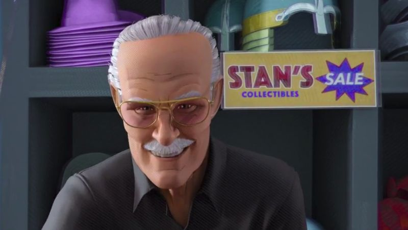 Director Reveals Cut Stan Lee Lines From Into The Spider-Verse