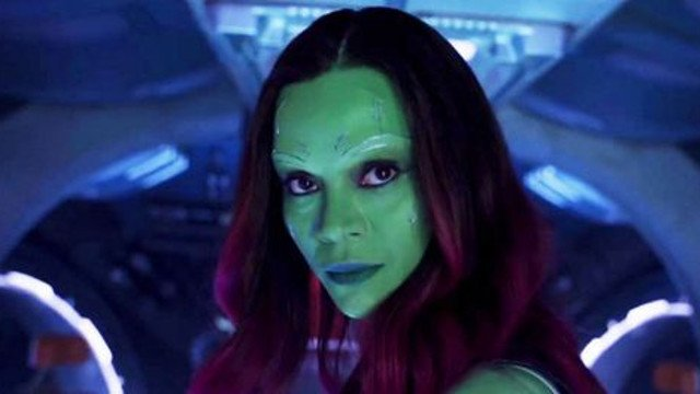 Gunn's return to 'Guardians...' makes Saldana happy