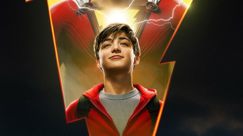 Billy Batson is Ready for Action On New Shazam! Poster