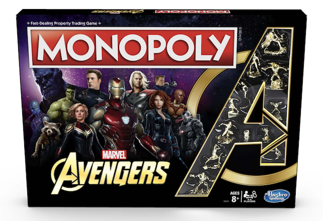 Monopoly: Marvel Avengers Edition Lets You Create Your Own Team of