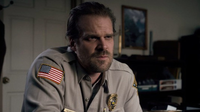 Parenthood Hasn't Been Kind to Jim Hopper in Stranger Things 3