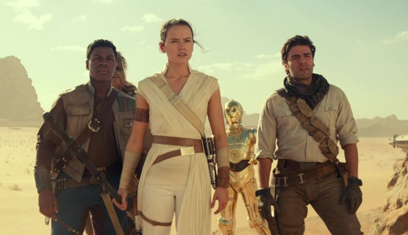 20+ Screenshots of New Rise of Skywalker Footage