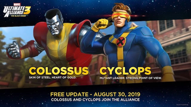 Marvel Ultimate Alliance 3 Colossus and Cyclops