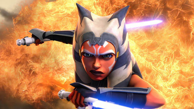 Ashley Eckstein Reacts to Ahsoka Tano's Live-Action Debut in The Manda... image