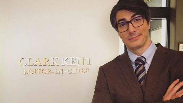 Brandon Routh Suits Up as Clark Kent in Crisis on Infinite Earths