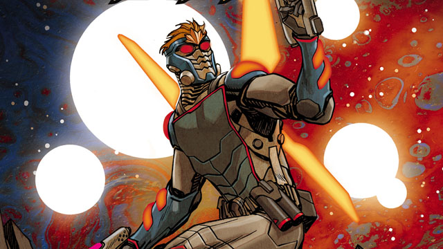 Exclusive: First Look At Guardians of the Galaxy #11 2099 Variant Cover