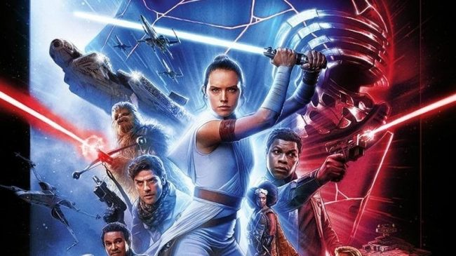International Poster for Star Wars: The Rise of Skywalker Released