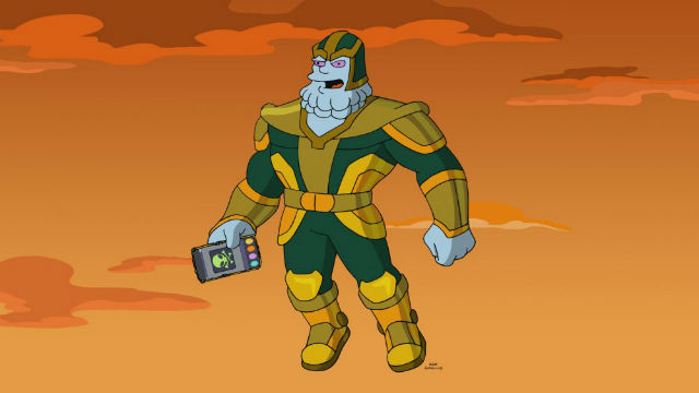Kevin Feige Is Chinos In The Simpsons Avengers Spoof