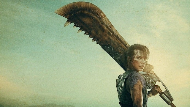 Monster Hunter Movie Poster Shows Milla Jovovich With a Great Sword