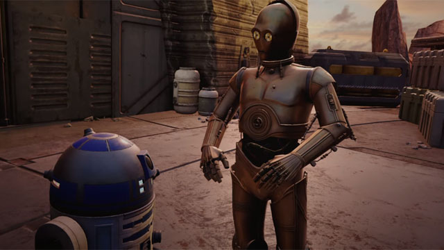 Star Wars: Tales From the Galaxy's Edge is coming to Oculus Quest