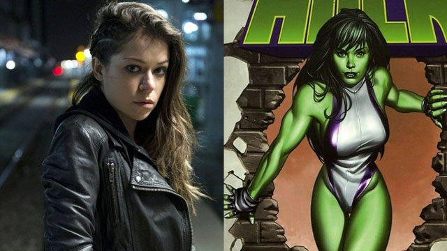 Tatiana Maslany is Marvel's She-Hulk!