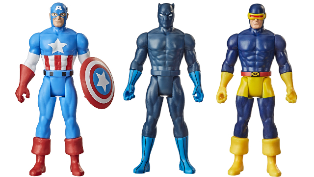 Retro Kenner-Style Marvel Figures Coming From Hasbro