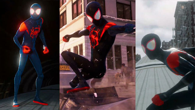 Insomniac Debuts Into the Spider-Verse Costume For Spider-Man: Miles Morales