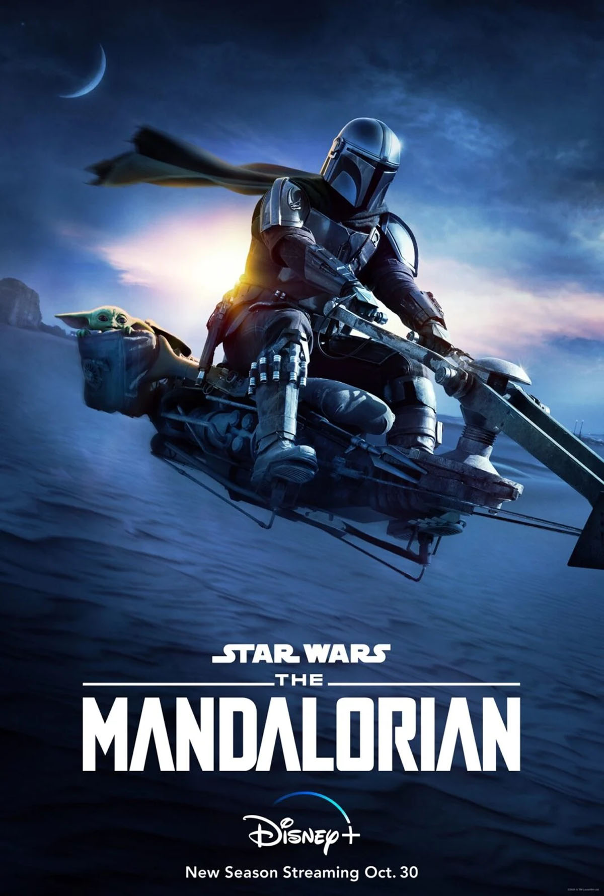 Disney Drops A New Poster For The Mandalorian Season 2
