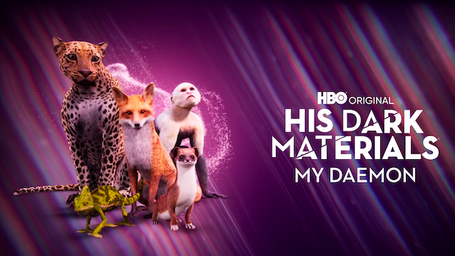 HBO Launches His Dark Materials: My Daemon AR App