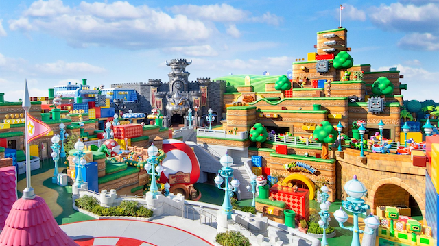 Wow-ser: Japan 'Super Mario' theme park to open in February
