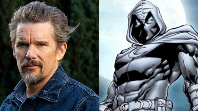 Ethan Hawke Tapped as Main Villain in Disney+'s Moon Knight Series!