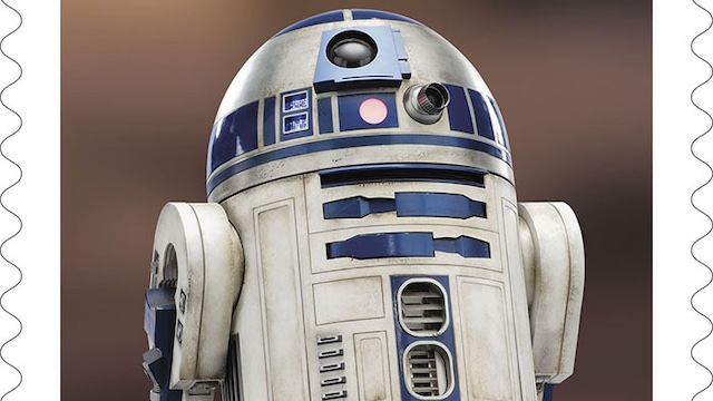 Postal Service releasing new 'Star Wars' stamps featuring droids