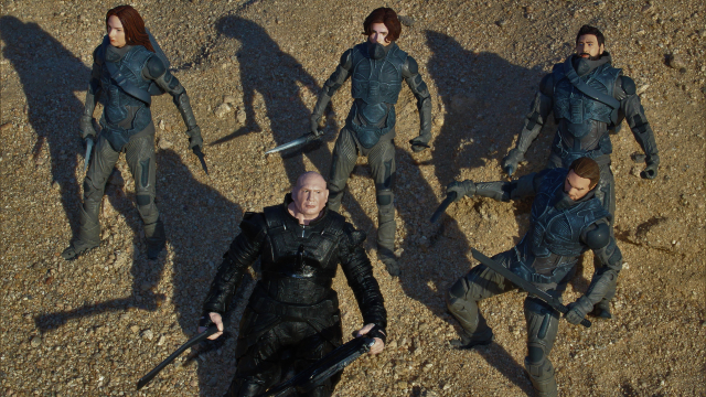 Toy Review Mcfarlane Toys 2021 Dune Movie Action Figures