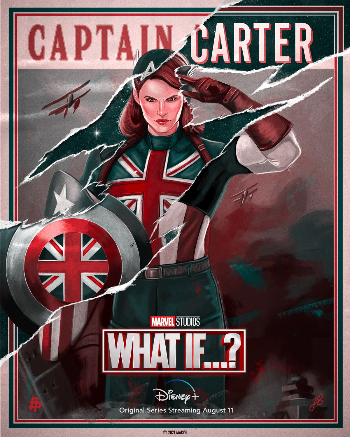 What If...? Gives Captain Carter Her Own Character Poster